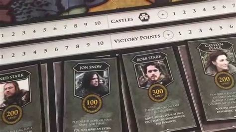 Of Thrones Board Card Template by Risk Of Thrones