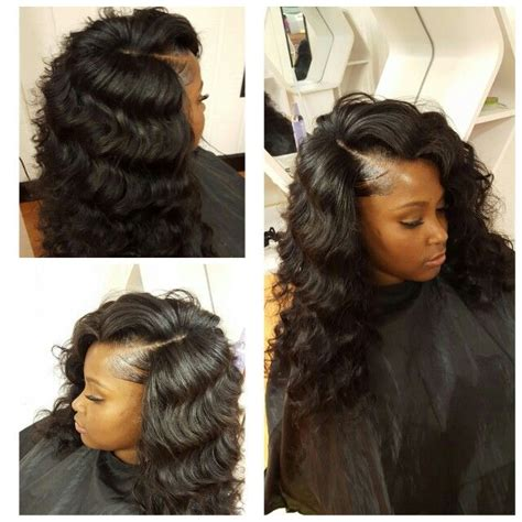 deep wave loose blonde curls with bangs 24 best my work my passion hair images on pinterest