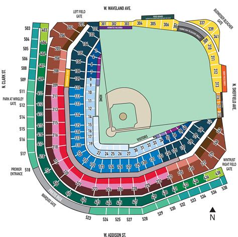 chicago cubs stadium seating chart season ticket holder pricing and benefits chicago cubs