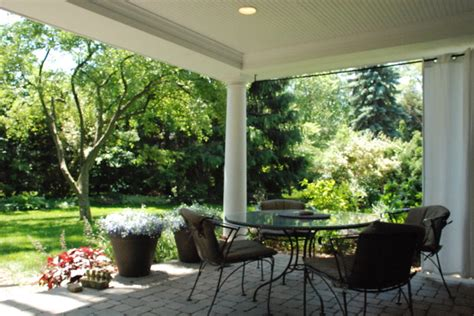 Backyard Porches by Open Air Backyard Porch Traditional Porch Detroit