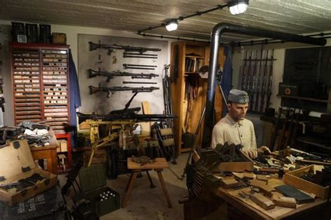 arms room inside the bunkers picture of atlantic wall museum ostend tripadvisor