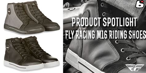 good shoes for motorcycle riding bto sports product spotlight fly racing m16 riding shoes