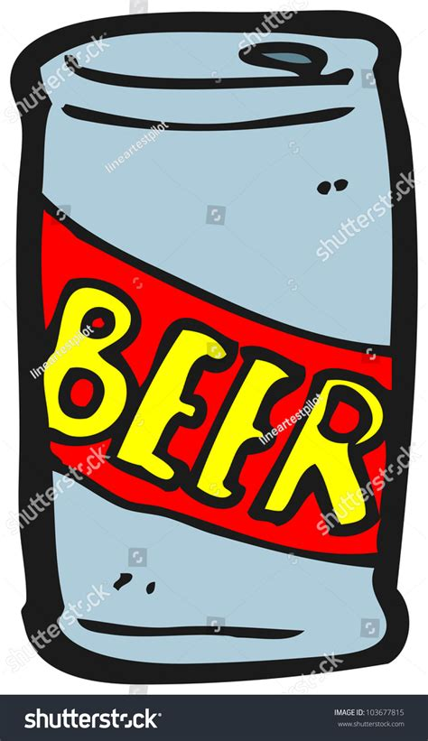cartoon beer can cartoon beer can stock photo 103677815 shutterstock