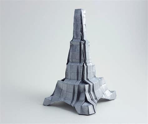 Origami Eiffel Tower - origami eiffel tower easy comot