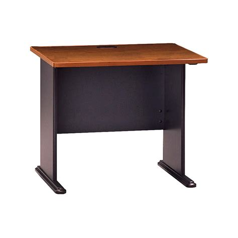 Bush Series A Corner Desk Office Furniture Suites Desks 1081863 Bush Series A Collection Corner Desk Hansen Cherry