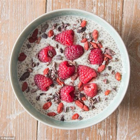 chia seeds before bed ella woodward shares recipes you never knew you could make using dates daily mail online