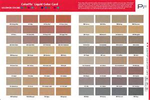 davis concrete color chart sealant depot integral colors for concrete