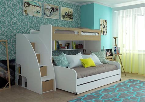bunk beds with table talentneeds