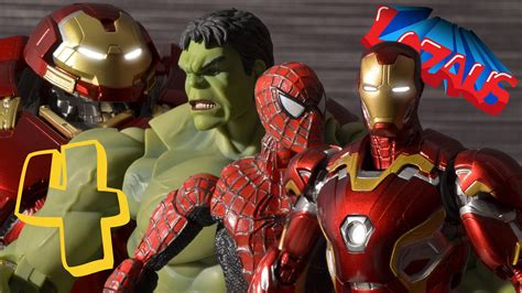 Ironman House by Ironman Stop Motion Part 4 With Spiderman Hulk
