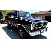 1987 Dodge Ram Charger 4x4 CLEAN Blazer Bronco Ramcharger