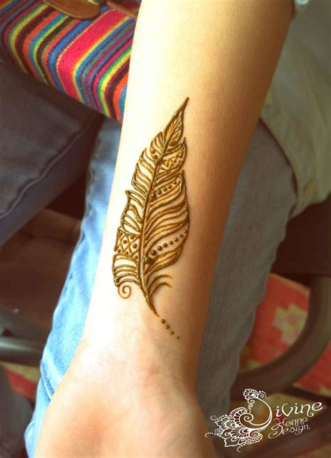 design temporary tattoos online 25 best ideas about henna feather on henna