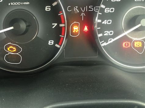 subaru warning lights cruise control flashing subaru forester cruise control light flashing cruise
