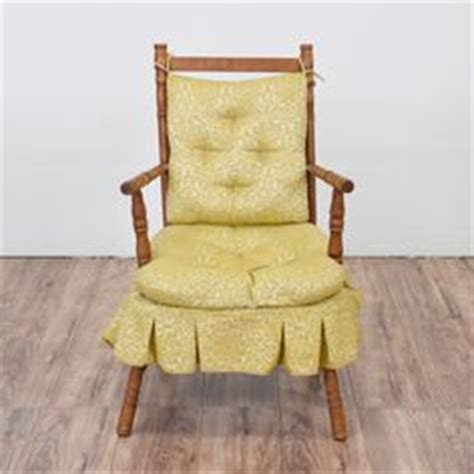 rocking chair cushion set with skirt tiger maple rocker chairs antique rockers