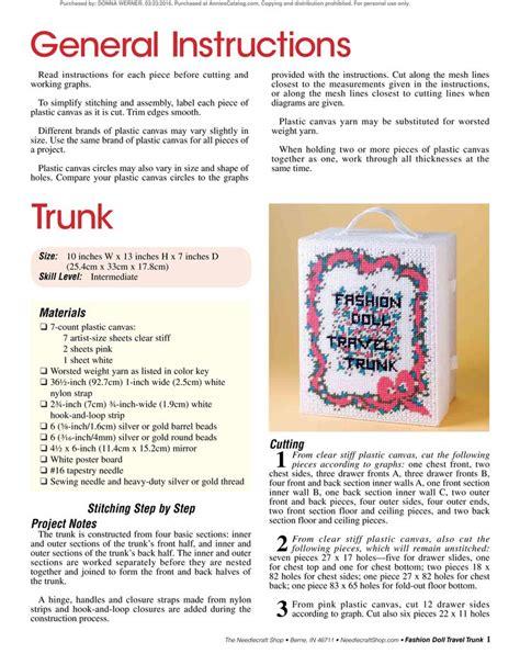 fashion doll travel trunk fashion doll travel trunk pg 3 trunk file
