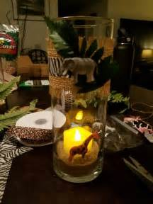 jungle centerpieces for baby shower best 25 safari theme baby shower ideas on