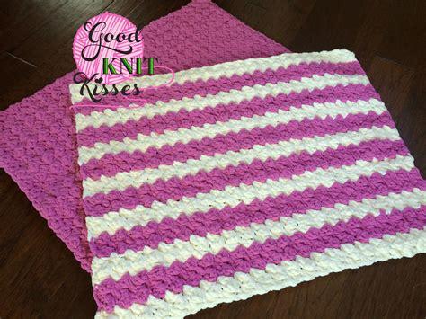 Baby Blanket Dimensions Crochet by Marshmallow Crochet Baby Blanket Goodknit Kisses