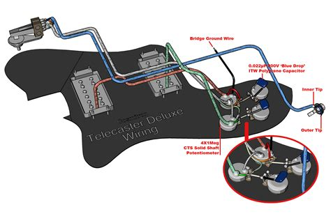 telecaster custom wiring diagram telecaster four way