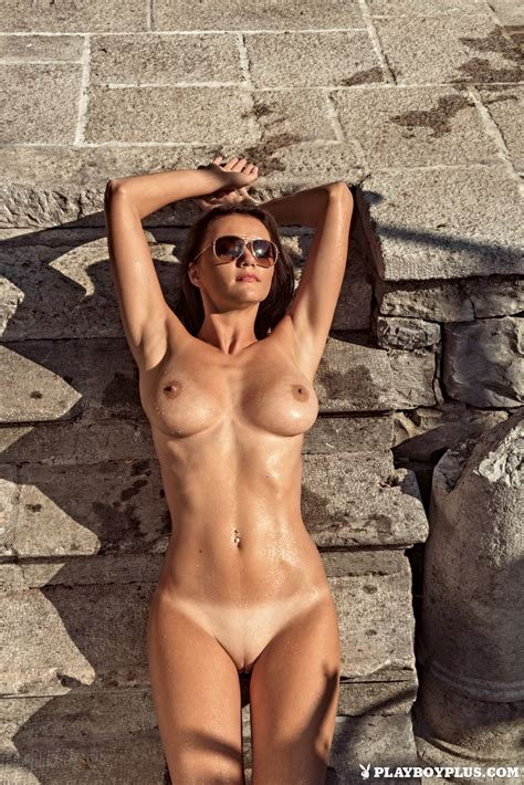 Manja Dobrilovic In Playboy Slovenia Naked And Sexy