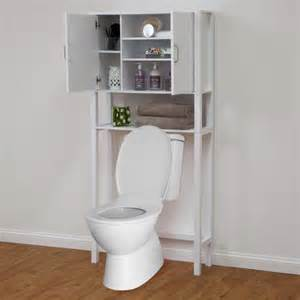 modern style simple solutions over the toilet cabinet