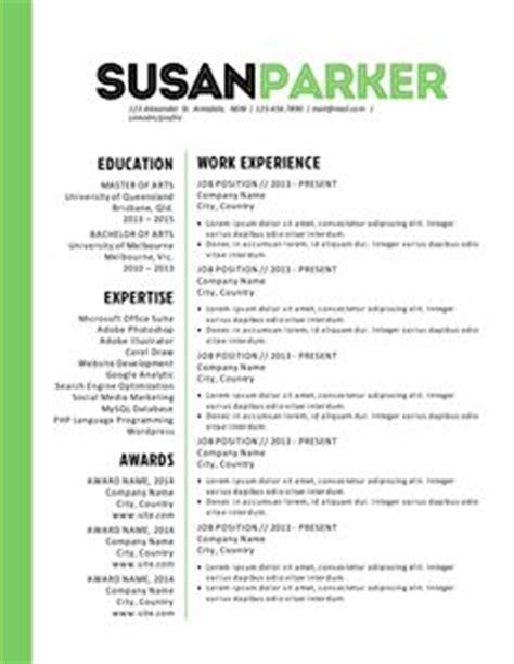 1000 Images About Resume Redo On Pinterest Resume Resume Design And Resume Templates Bold Resume Template