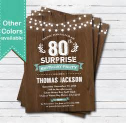 80th birthday invitation template 80th birthday invitation templates gangcraft net
