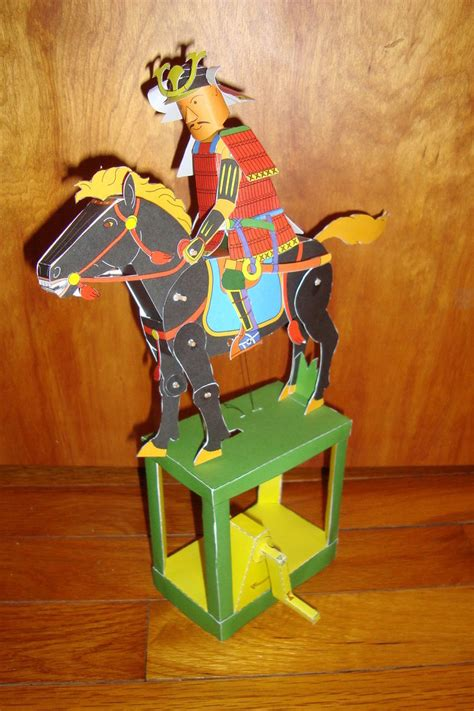 Samurai Papercraft - papercraft samurai and by gaani hatchinto on deviantart