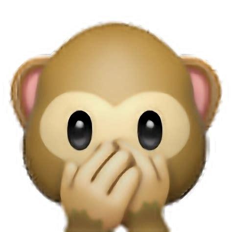 imagenes del emoji del monito emoji png edit tumblr overlay freetoedit