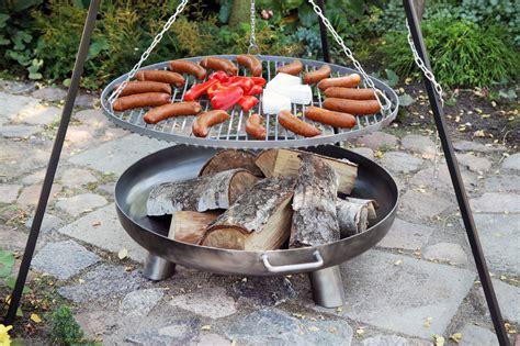feuerschale als grill schwenkgrill mit feuerschale 216 80cm kaufen bei finnwerk