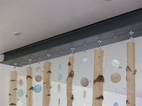 großes windlicht dekorieren birke deko