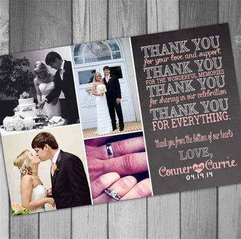 Magnet Photo Thank You Cards