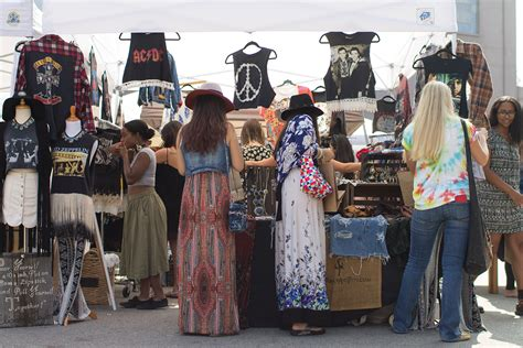 Handmade Items That Sell At Flea Markets - monthly flea market draws in vendors selling handmade