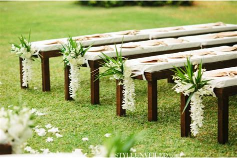 wedding benches 17 best images about beach weddings on pinterest