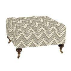 Kilim Storage Ottoman Handmade Kilim Upholstered Storage Footstool Ottoman India Blue Ivory Chairs And Blue