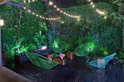 how to decorate a deck with fairy lights outdoor magic how to decorate with lights