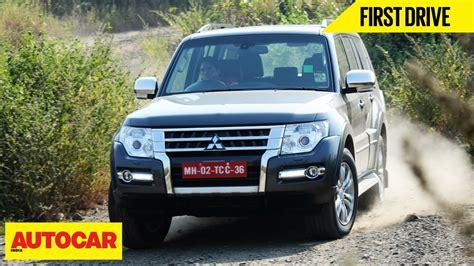 mitsubishi india mitsubishi montero drive autocar india