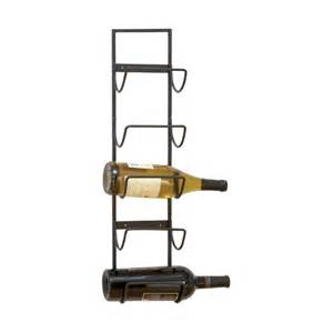 woodland imports old world wall mounted 5 bottle wine rack amp reviews wayfair
