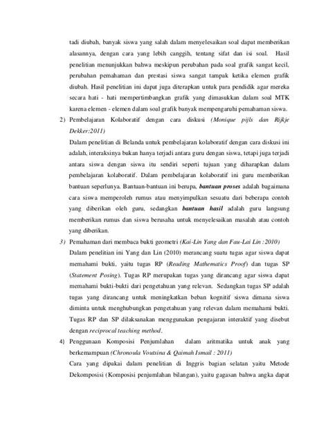 cara membuat jurnal matematika resume problematika pendidikan matematika 1dari jurnal