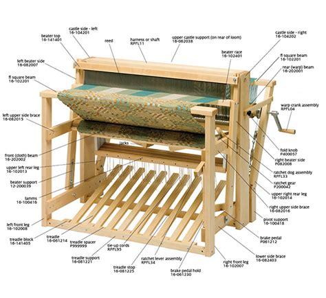 floor loom weaving standard floor loom schacht spindle company