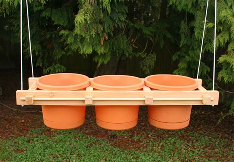 Handmade Wooden Planters - handcrafted wood vertical and hanging planter frames