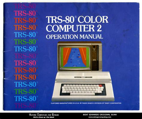 color computer vc g 187 retro scan of the week trs 80 color computer 2