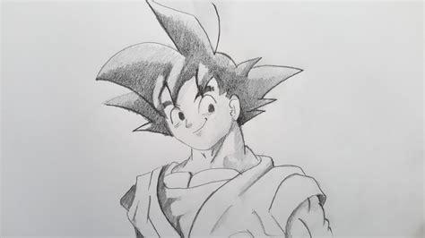 imagenes a lapiz faciles de goku como dibujar a goku paso a paso el dibujante youtube