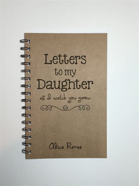 letters to my books letters to my baby keepsake gift to my