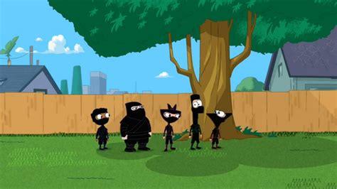 phineas and ferb backyard image ninja kids return to the backyard jpg phineas