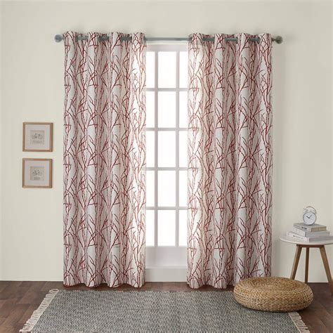walmart curtains for bedroom energy efficient curtains the woodland curtains feature