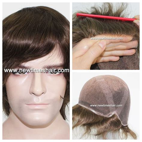 lace hair lines for men lw2585 very natural hairline full lace cap hair piece for men