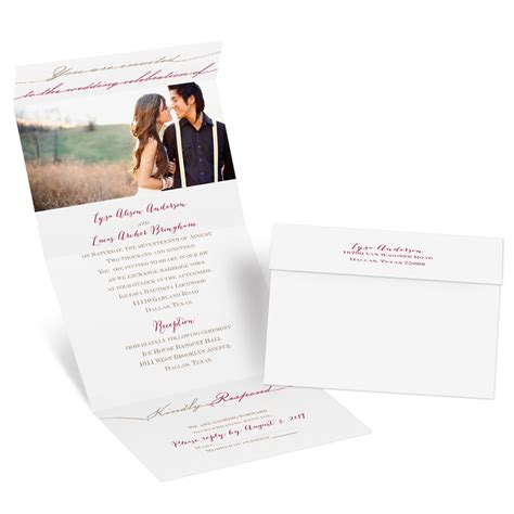 Seal And Send Wedding Invitations by Simply Inviting Seal And Send Invitation Invitations By