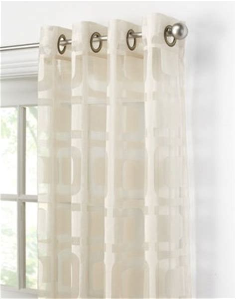 cheap grommet curtain panels cheap othello modern geometric curtain panel on sale