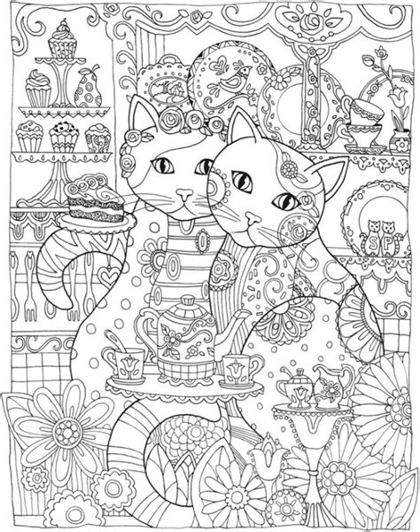 stay pawsitive cat coloring book for adults relaxing and stress relieving cat coloring pages coloring books volume 4 books freebie cat mandala coloring page sting
