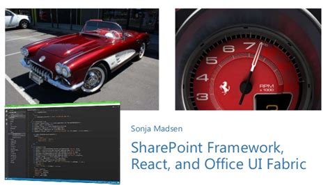 Office Ui Fabric React Sharepoint Framework React And Office Ui Sps Silicon Valley
