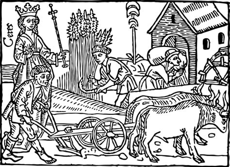 medieval farming clip art at clker com vector clip art